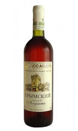 Dessertwein Aluschta (Portweinart) weiß 2008
